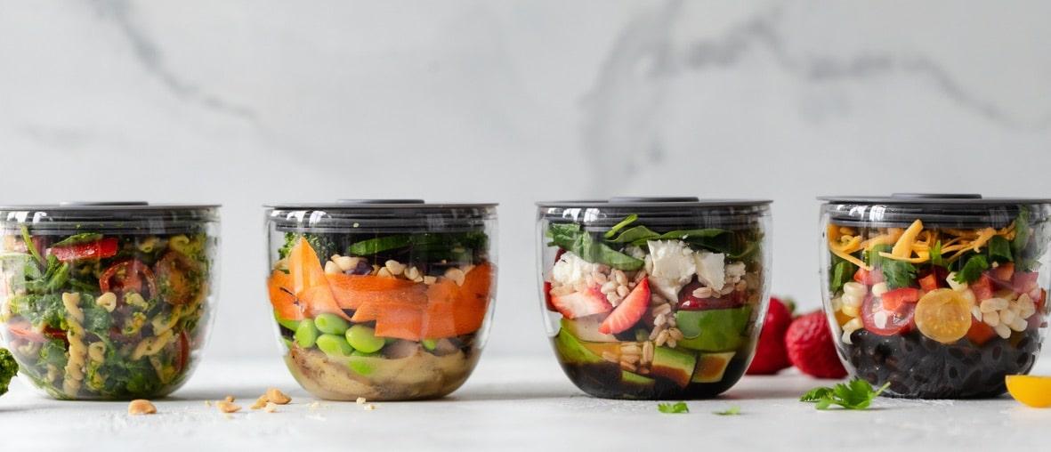 secteur agroalimentaire salades à emporter
