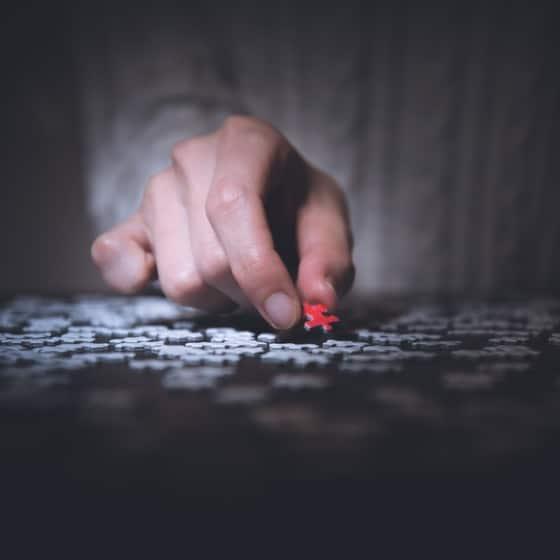 étude impact de la transformation en entreprise pièces puzzle