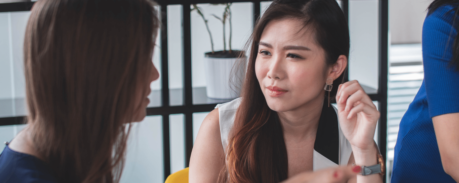 manager et risques psychosociaux discussion femmes