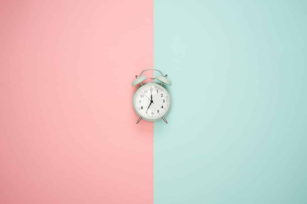 gérer son temps petit réveil