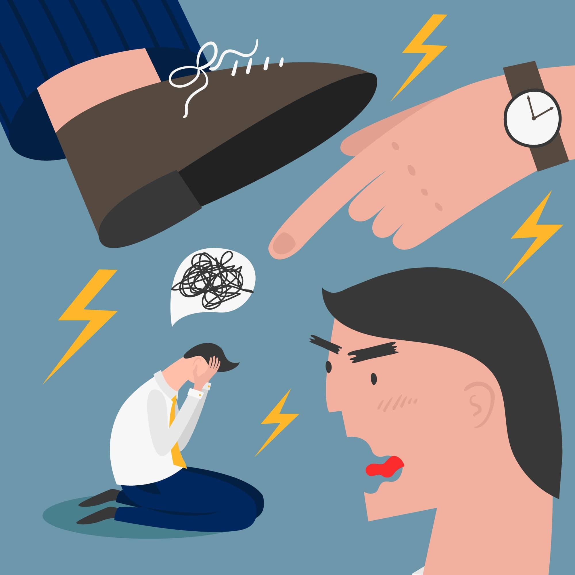 harcèlement managérial mauvaises pratiques