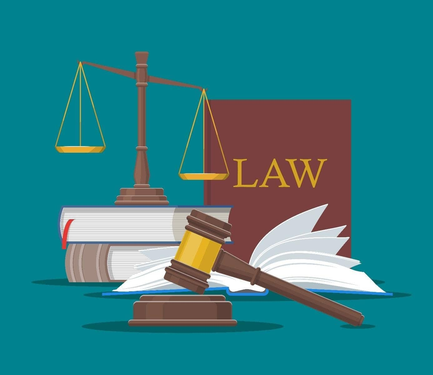 justice livres loi balance marteau